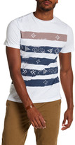 Sovereign Code Pauwel Stripe Print Tee