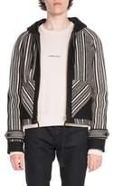 Saint Laurent Baha Wool-Blend Zip-Front Jacket