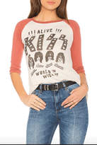 Junk Food Clothing Kiss Baseball Tee