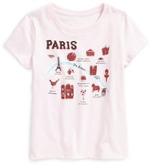 Kate Spade Toddler Girl's Paris Graphic Tee