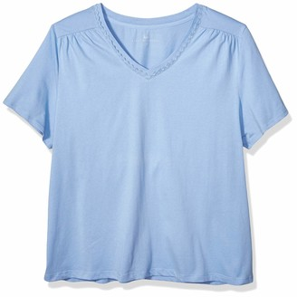 Karen Neuburger Women's Pajama Lounge Top Short Sleeve T-Shirt Pj
