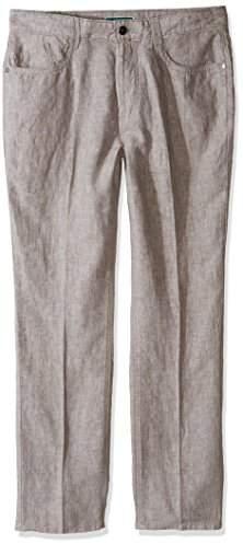 Cubavera Men's 100% Linen 5 Pocket Pant