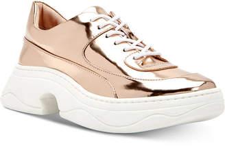 Katy Perry Vandall Mirror Metallic Sneakers Women Shoes