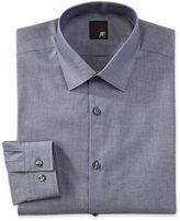 Jf J.Ferrar JF Cotton Dress Shirt - Slim Fit