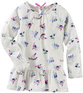 Osh Kosh Toddler Girl Long Sleeve Patterned Peplum Top