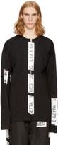 Ueg Black Taped Slits Sweatshirt