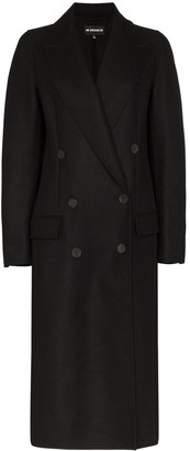 Ann Demeulemeester long collared coat