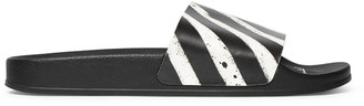 Off-White Off White Printed Rubber Slides