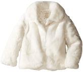 Kate Spade New York Kids - Faux Fur Jacket Girl's Coat