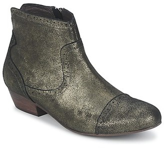 One Step LASAM women's Mid Boots in Gold