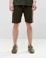 Asos Jersey Short In Dark Khaki