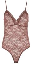Topshop Women's Sheer Lace Bodysuit