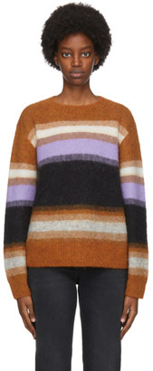 Acne Studios Multicolor Wool and Alpaca Striped Sweater