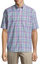 Tailorbyrd Men's Plaid Woven Shirt
