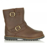 UGG Harwell Stout Leather Buckle Boot
