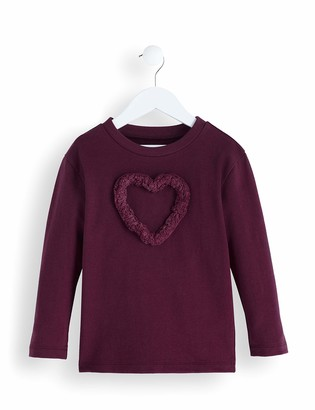 Amazon Brand - RED WAGON Girl's Long Sleeve Top