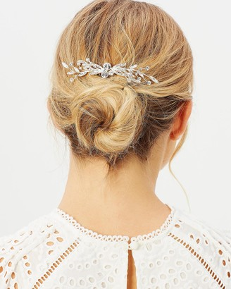 Ivory Knot Faye Hair Comb
