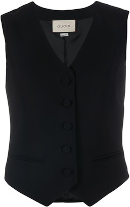 Gucci Single-Breasted Waistcoat