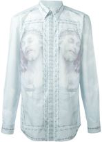 Givenchy Christ print shirt