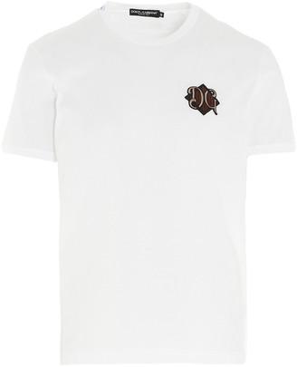Dolce & Gabbana Monogram Logo T-Shirt