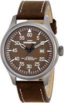 Timex Men's Expedition T49874 Calf Skin Quartz Watch