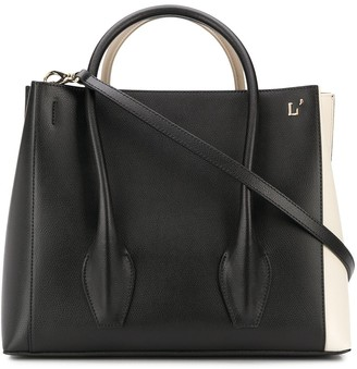 L'Autre Chose Colour Block Tote Bag