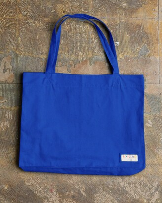 Uskees - The 4001 Large Organic Tote Bag - Ultra Blue