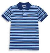 Lacoste Toddler's, Little Boy's & Boy's Striped Polo