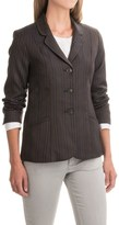 Pendleton Two-Pocket Striped Wool Blazer (For Women)