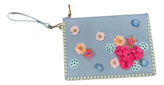 Sophia Webster Blue Leather Clutch bags