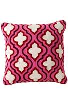 Torre & Tagus Crewel Embroidered Cushion