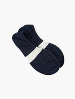 N/A Navy Cotton Sneaker Socks