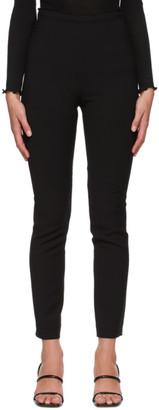 Totême Black Wool Saze Trousers