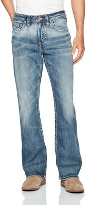 Silver Jeans Co. Men's Craig Easy Fit Bootcut Jean Medium Vintage
