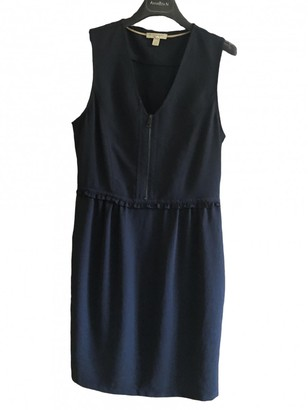 Burberry Blue Polyester Dresses