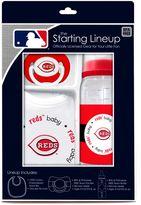 Baby Fanatic MLB Cincinnati Reds Baby Essentials Gift Set