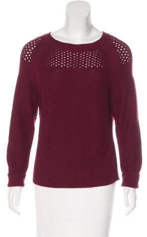 White + Warren Scoop Neck Knit Sweater
