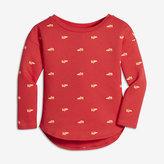 Nike Sportswear Air Max 90 Modern Infant/Toddler Girls' Long Sleeve T-Shirt