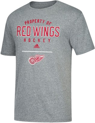 adidas Men's Detroit Red Wings Property Of Tee