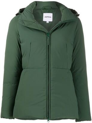 Aspesi Padded Zip-Front Jacket
