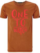Scotch & Soda One To Watch T-shirt, Rust