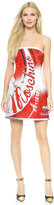Moschino Soda Strapless Dress
