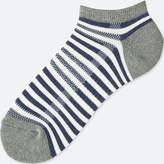 Uniqlo Men's Pile Striped Short Socks