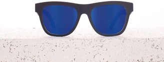 Toms TRAVELER Dalston Matte Black | Blue Mirrored Lens
