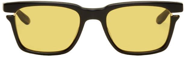 Dita Black and Yellow Avec Sunglasses