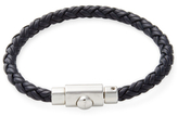 Salvatore Ferragamo Woven Leather Bracelet