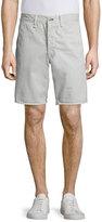 Rag & Bone Standard Issue Twill Shorts, Pale Gray