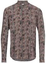 Saint Laurent Silk Batik Print Shirt