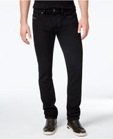 Diesel Men's Thavar 0Z886 Black Slim Fit Stretch Jeans