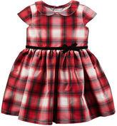 Carter's Plaid Tafetta Dress